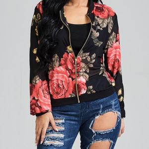 Jackets & Blazers - Floral Jacket